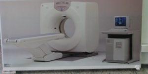Tomografo na clínica Tomus e Imagem , em Guanhães