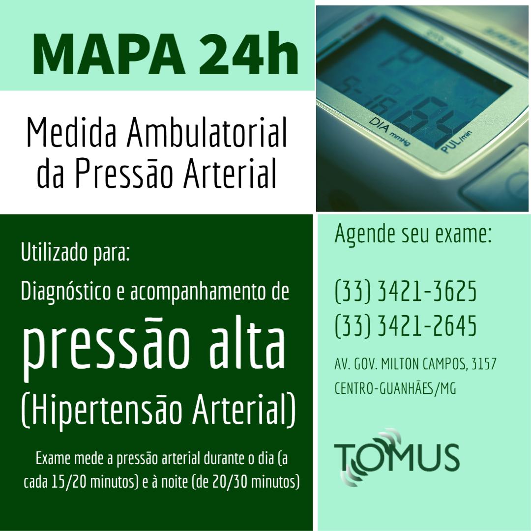 mapa pressão arterial