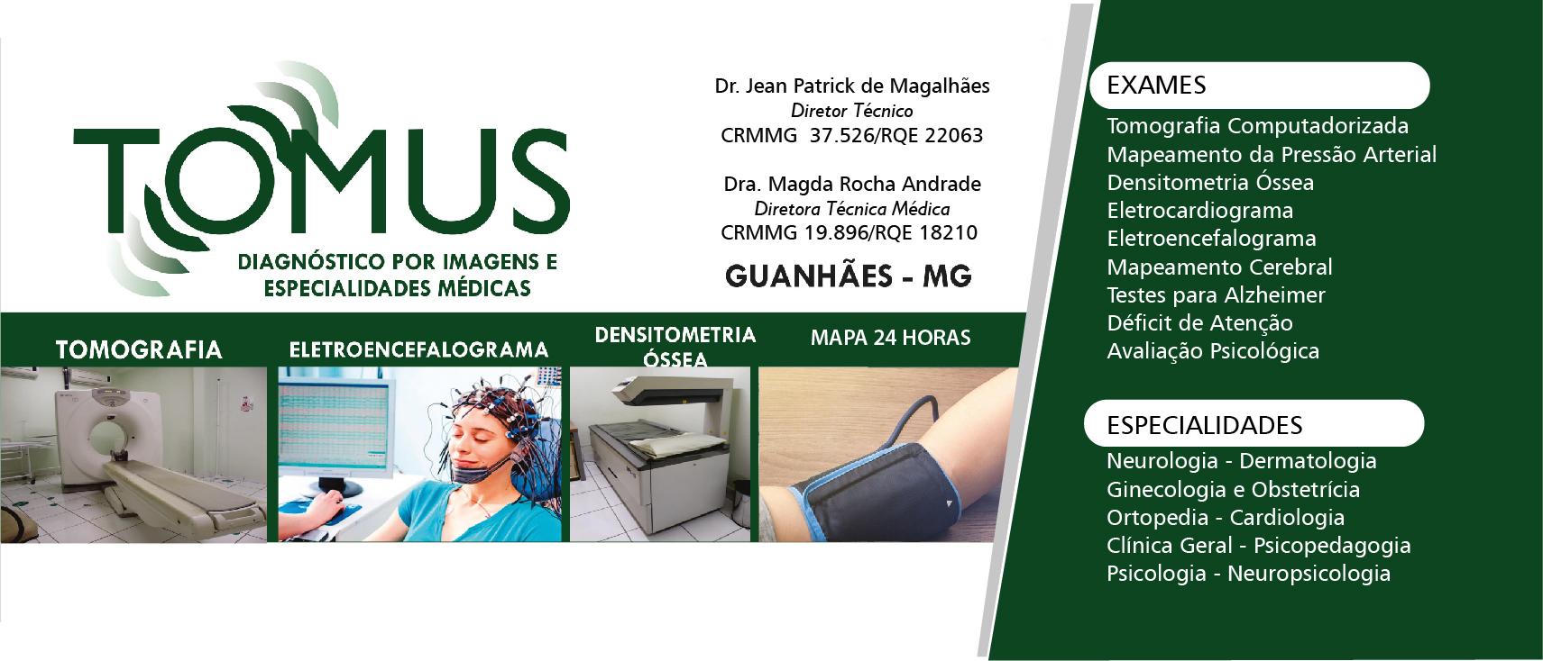 Clinica Tomus e Imagem-Guanhães/MG